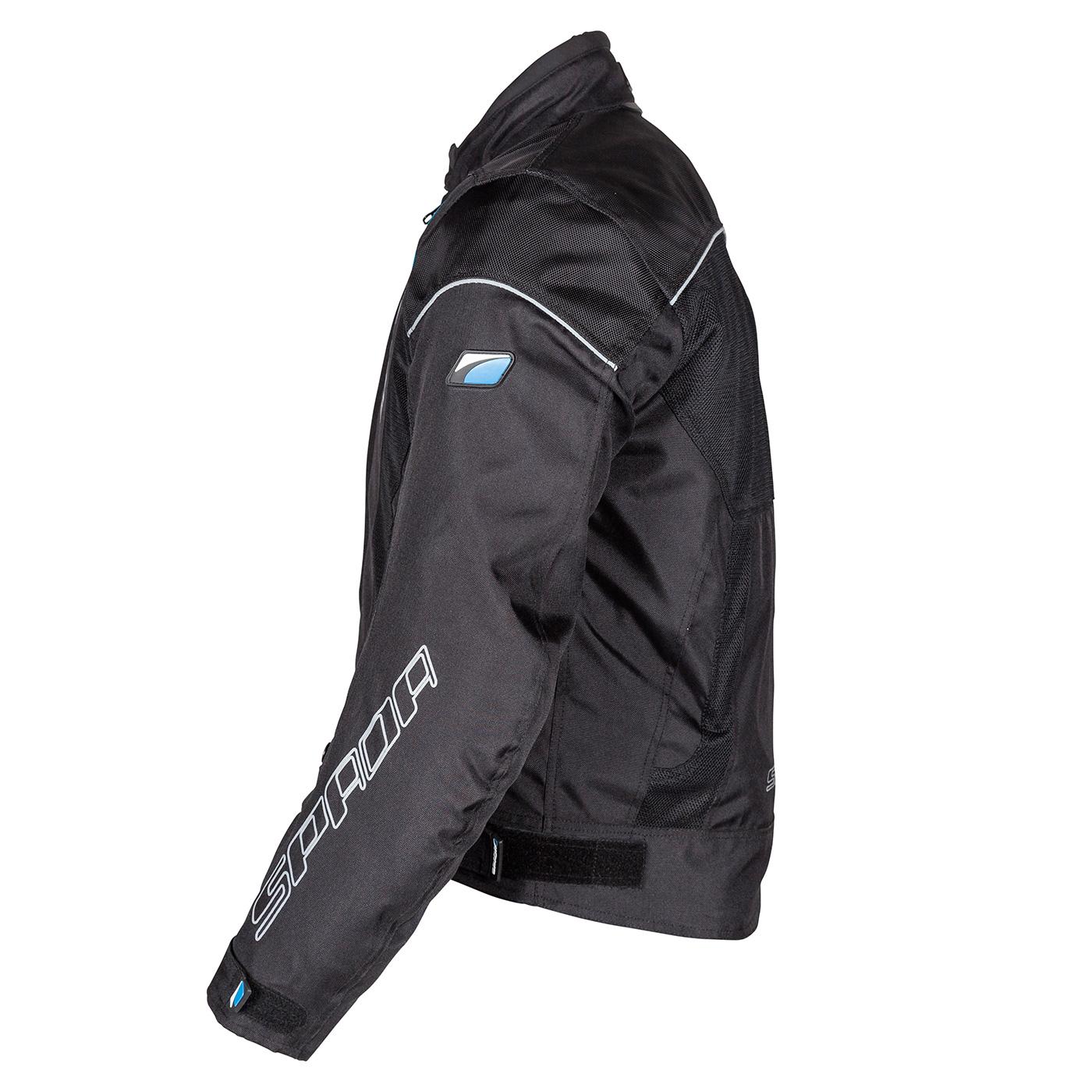 Spada Bunda AIR PRO čierna (priedušná) + dažďovka